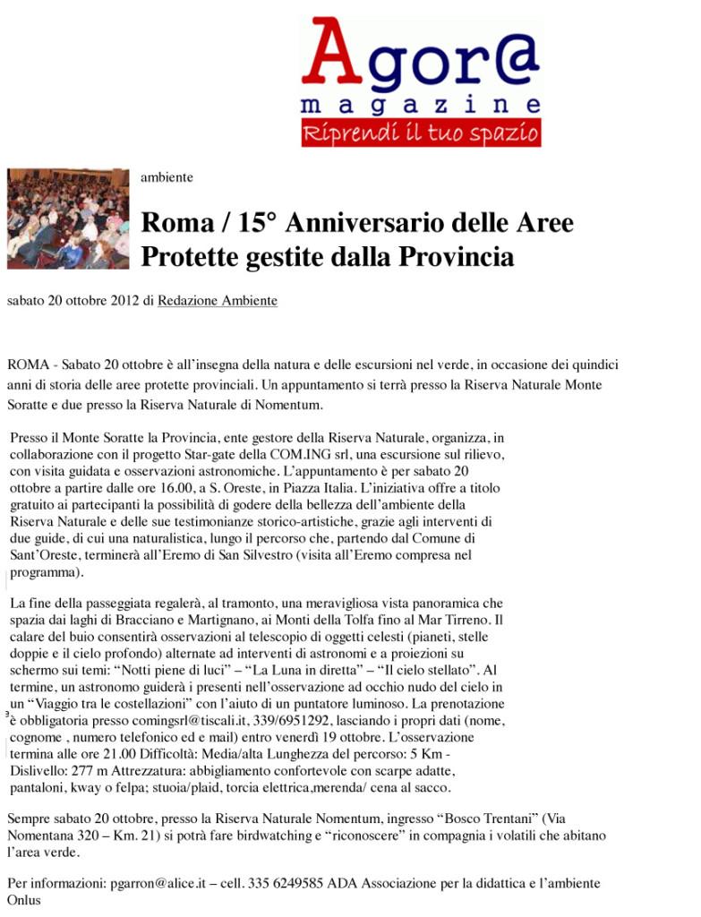 Home Provinz | Provincia di Roma
