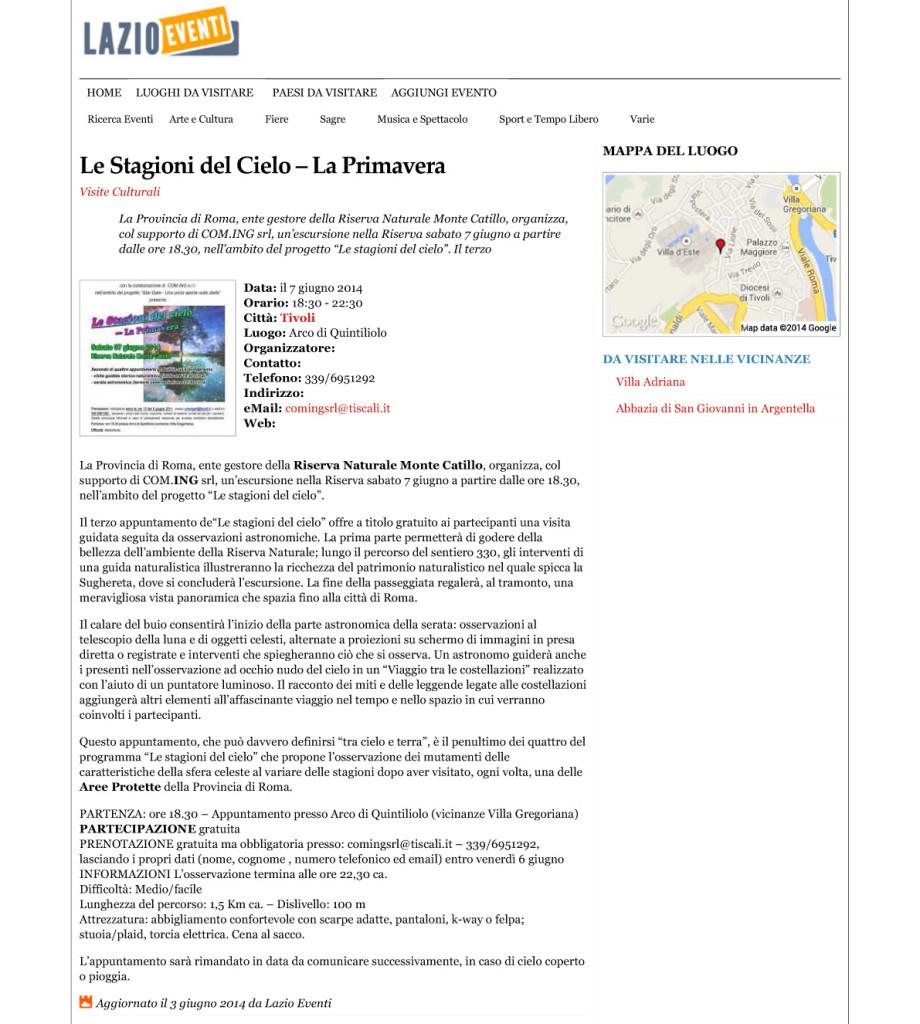 2014_06_07 - Stargate Catillo - rassegna stampa