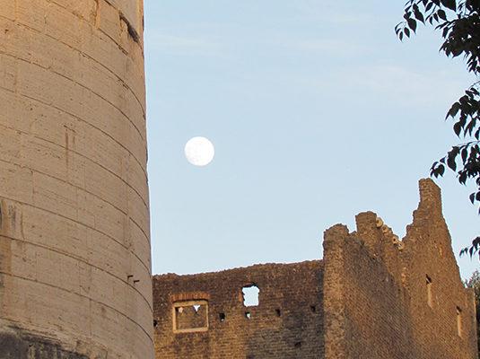 10 - Un'altra dei protagonisti della serata (la Luna)