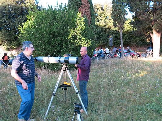 2- I preparativi per l'osservazione astronomica